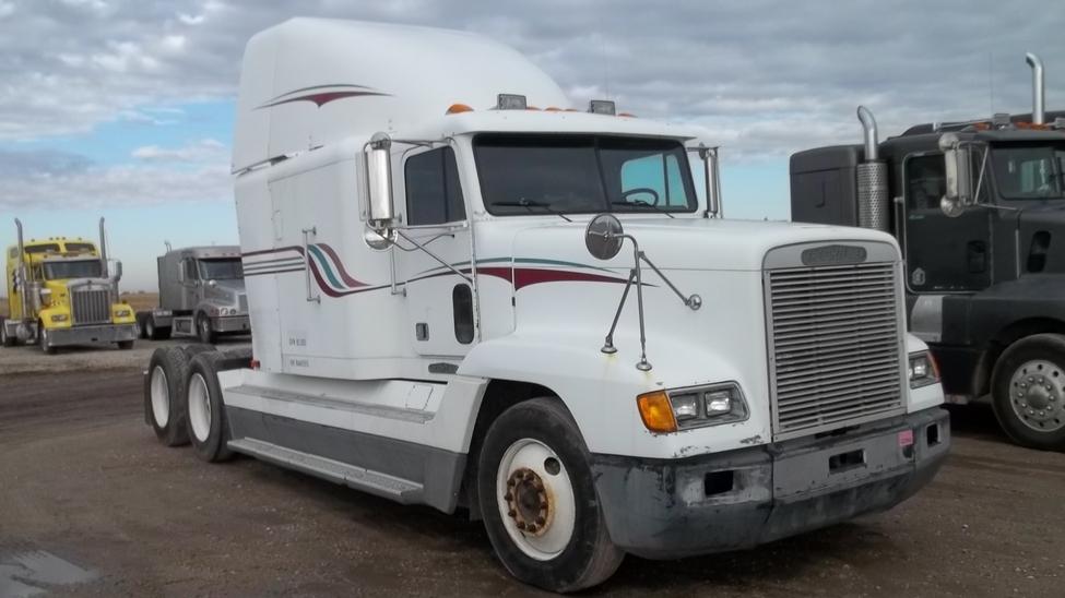 Fld 120 Freightliner Semi Truck : Freightliner fld stocknum ety