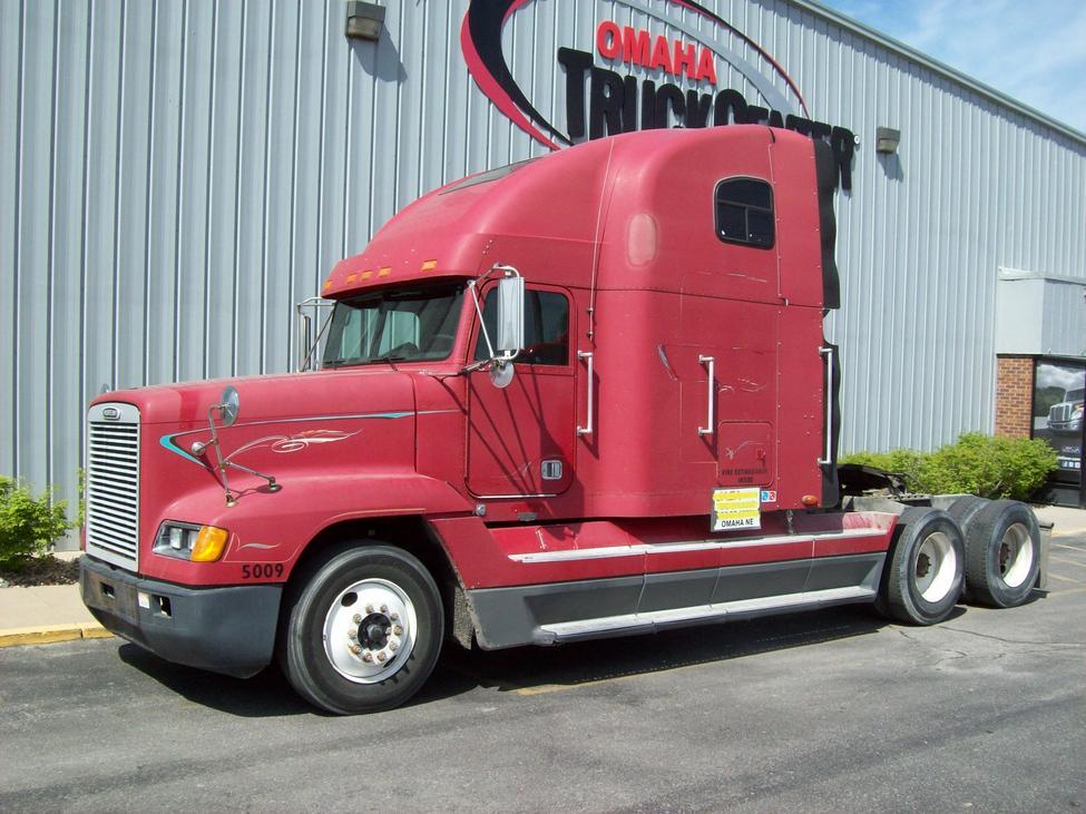 Freightliner Fld120 Hood : Freightliner fld stocknum og nebraska