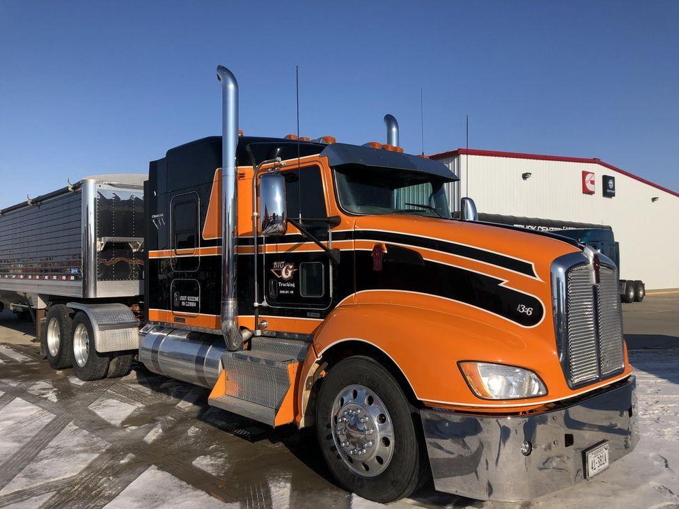 2012 Kenworth T660 StockNum: XC316904